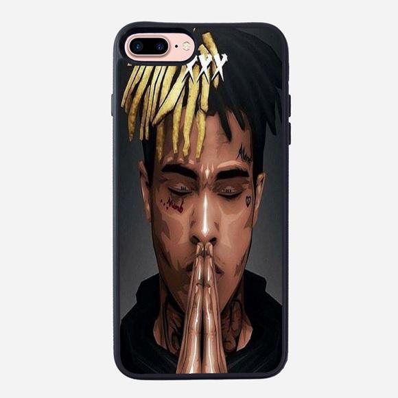 best service 2429e 63f18 XXXTENTACION iPhone 8 Plus rubber case